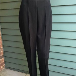Stylish Tailored Black Pants